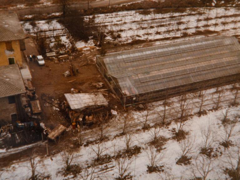 Prima serra in fase di costruzione
